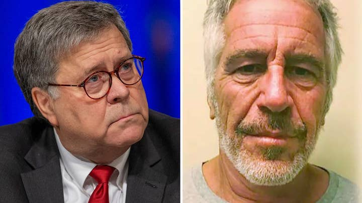 AG Barr promises accountability, demands investigations into Jeffrey Epstein's death