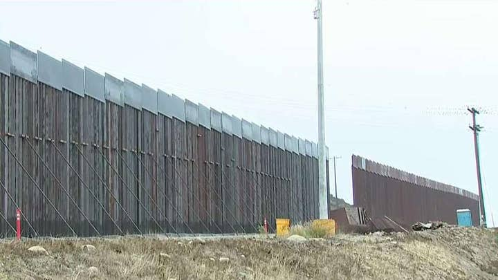 14-mile border fence replacement project complete in San Diego