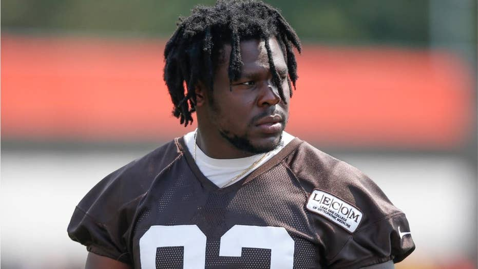 Cleveland Browns' Chad Thomas suffers neck injury in scary moment at practice