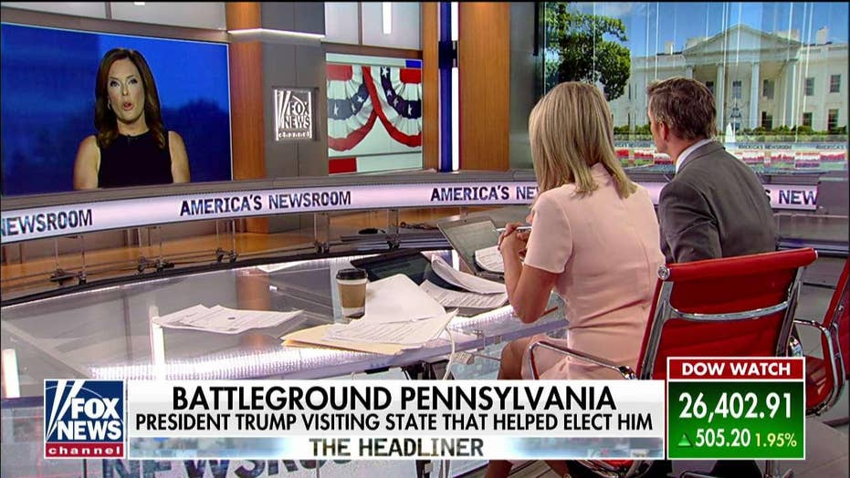 Trump campaign adviser pressed on 'America's Newsroom' on Biden's big lead in Pennsylvania.