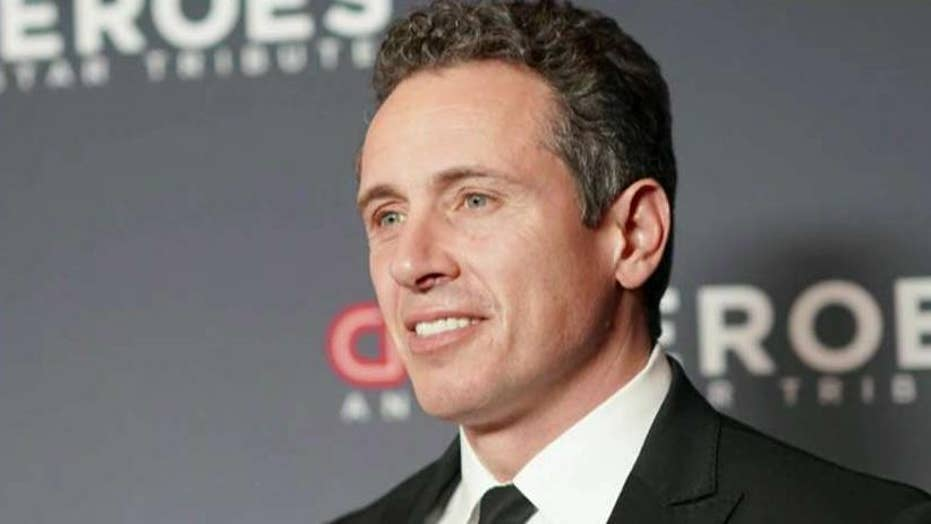 CNN's Chris Cuomo blasts heckler for 'Godfather' comparison