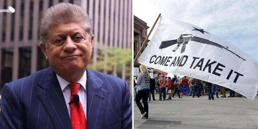 """Judge Andrew Napolitano: Gun confiscation under """"red flag"""" laws is unconstitutional"""