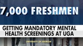 7K freshman students at University of Georgia receiving mandatory mental health screenings