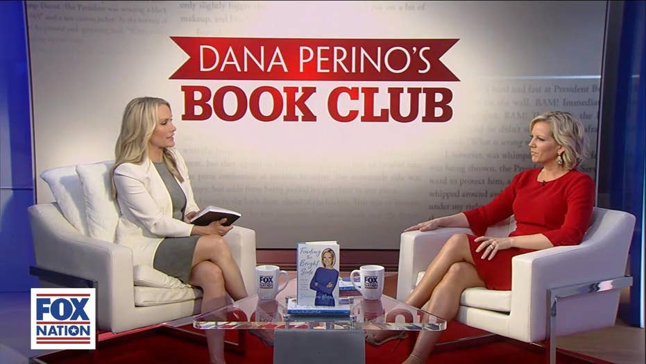 Shannon Bream discusses her book 'Finding the Bright Side' with Dana Perino in Fox Nation episode.