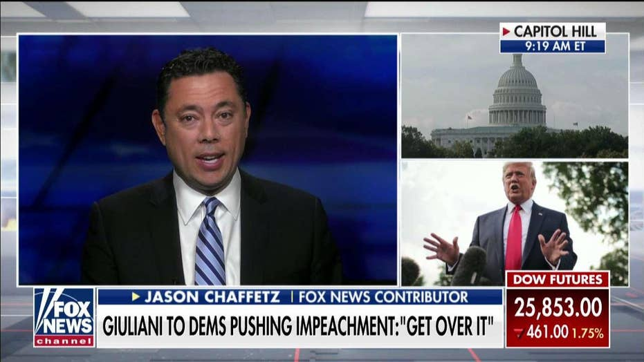Jason Chaffetz agrees that Democrats should abandon impeachment push