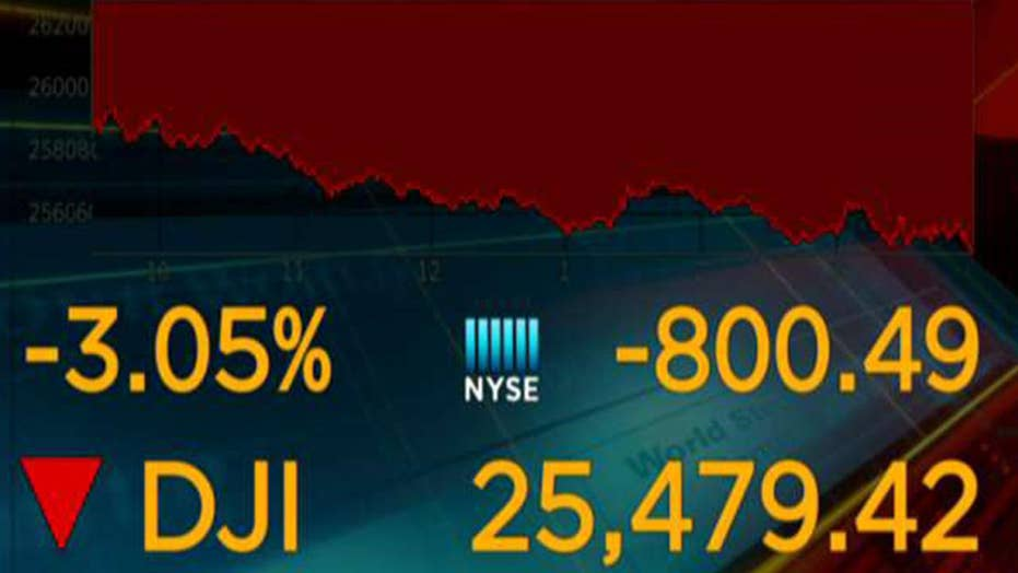 Stocks dive as new recession fears flare up
