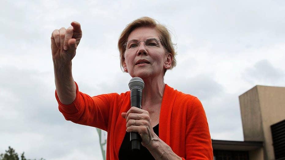 Elizabeth Warren campaigns on wealth tax in New Hampshire