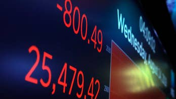 Dow plunges 800 points, recession fears swirl