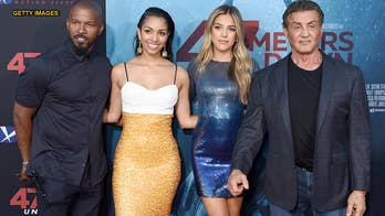 '47 Meters Down: Uncaged' stars Corinne Foxx and Sistine Stallone share advice from their famous fathers