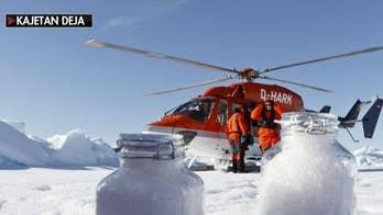 Microplastics found in snow in remote Arctic