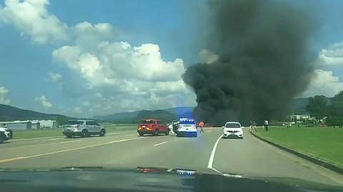 Dale Earnhardt Jr. and family hospitalized after plane crash