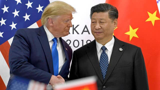 President Trump urges Chinese president to meet with Hong Kong protesters