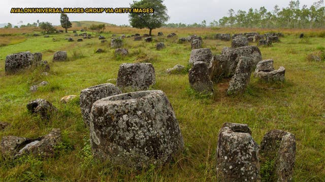 Ancient 'Plain of Jars' may be burial site for thousands of dead infants and children