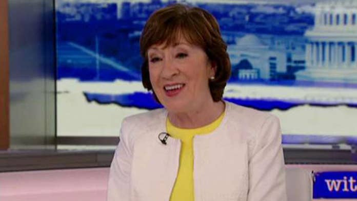 Sen. Collins on gun control: Solution is possible if Dems don't 'play political games'
