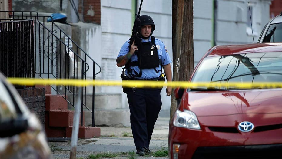 Eight-hour standoff in Philadelphia leaves six officers wounded