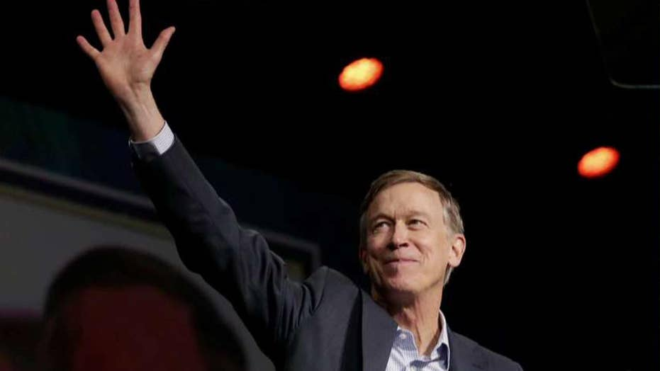 John Hickenlooper ends White House bid
