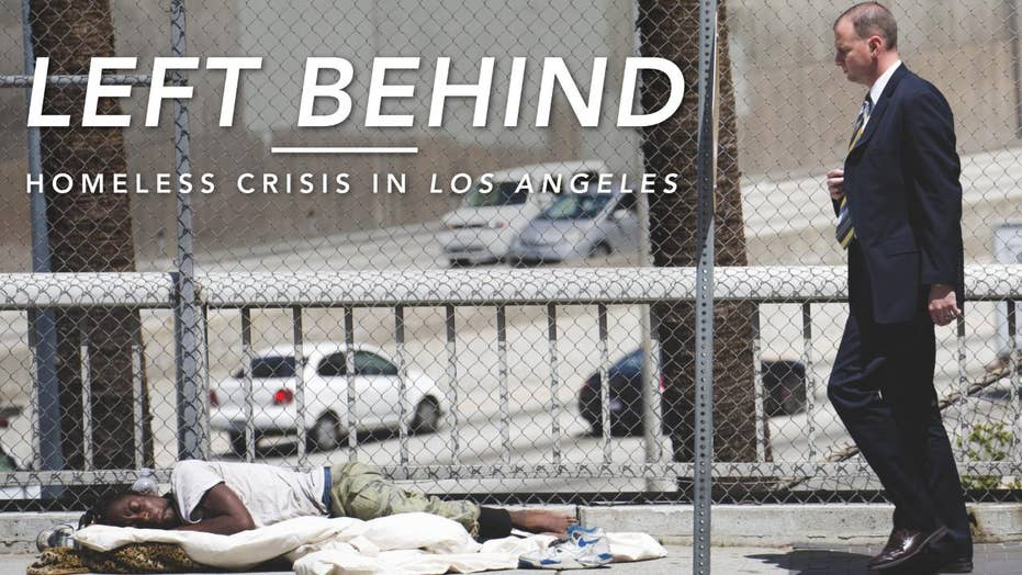 Left Behind: Homeless Crisis in Los Angeles
