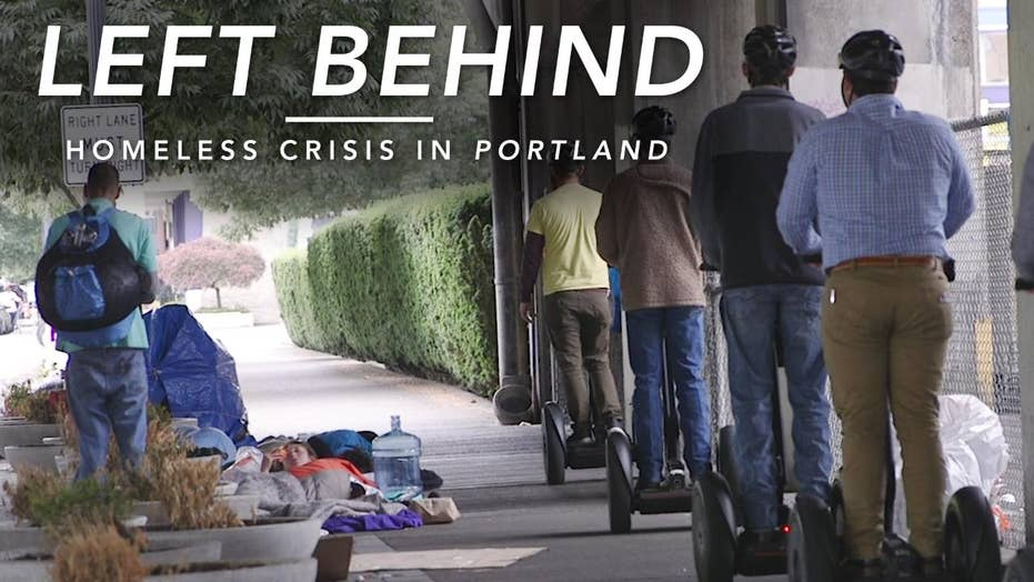 Left Behind: Homeless Crisis in Portland