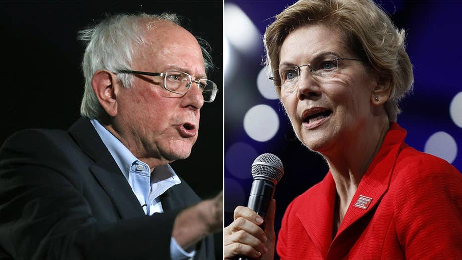 Elizabeth Warren leaps past Bernie Sanders in new Fox News Poll