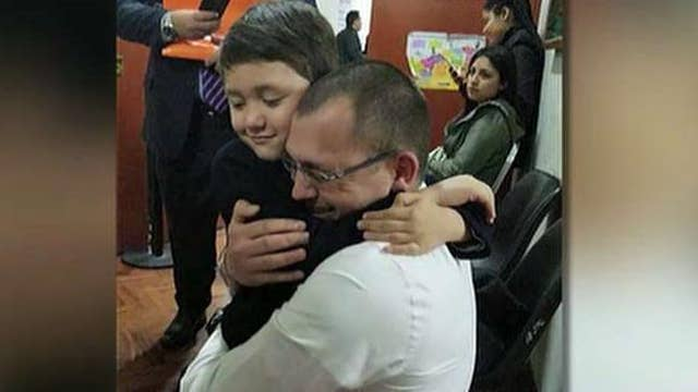 Navy veteran fighting legal battle for son's safe return from Peru