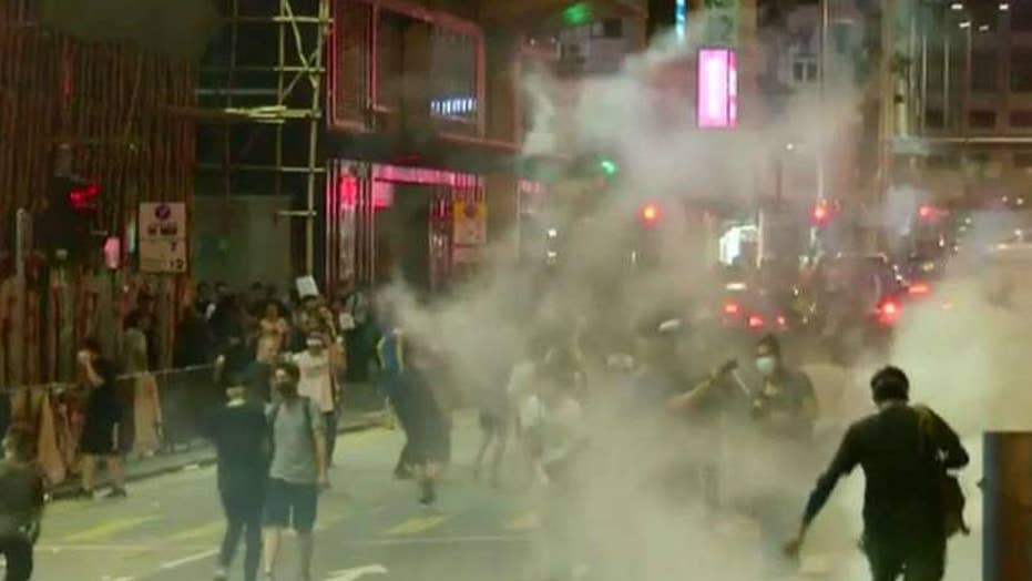 Hong Kong protests continue for 11th straight week