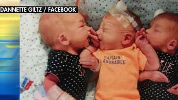 South Dakota woman mistakes triplets for kidney stones