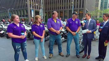 'America's 9/11 Ride' completes its journey on the Fox Square