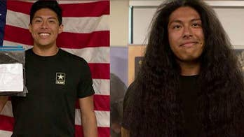 New US Army soldier gets first haircut in 15 years to join military