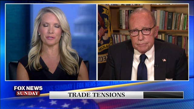 Larry Kudlow confirms rumor about U.S. and Greenland during Fox News Sunday interview