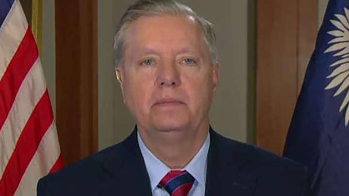 Sen. Graham: The dream of every leftist is to have a liberal court enacting laws from the bench