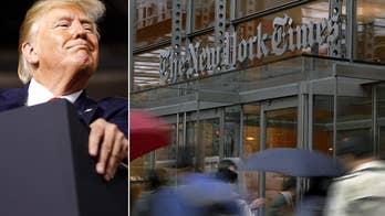 NYT editor hits 'bizarre litmus test' on Trump