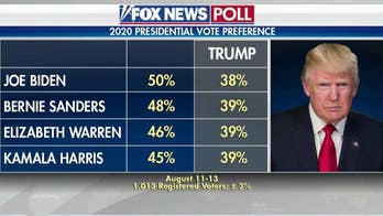 Top Democratic presidential candidates lead Trump in new Fox News poll