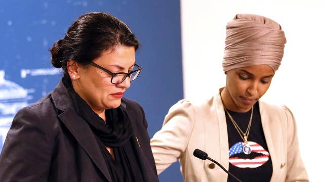 Reps. Tlaib and Omar blame Netanyahu and Trump for trip failure