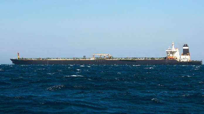 Iranian-flagged oil tanker sought by US sets new destination