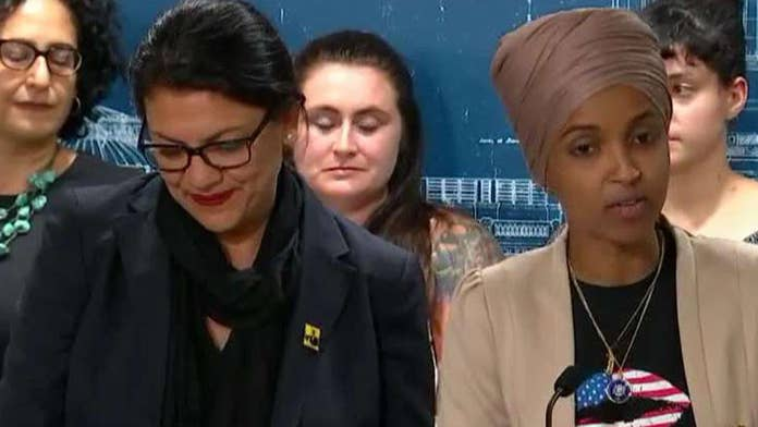 Tlaib gets emotional as Omar calls for Congress to act over Israel travel restrictions