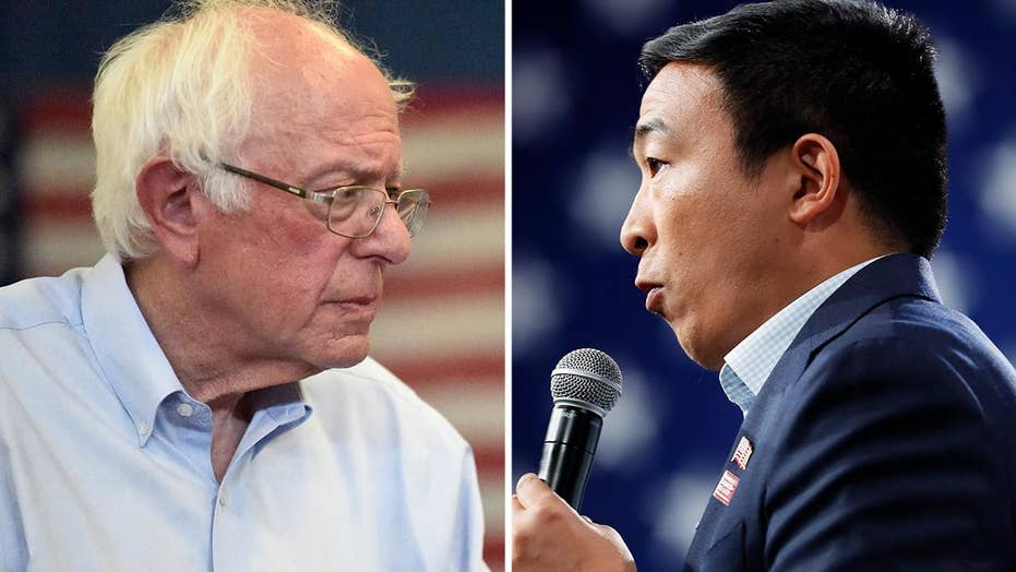 Bernie Sanders, Andrew Yang reveal their criminal justice plans