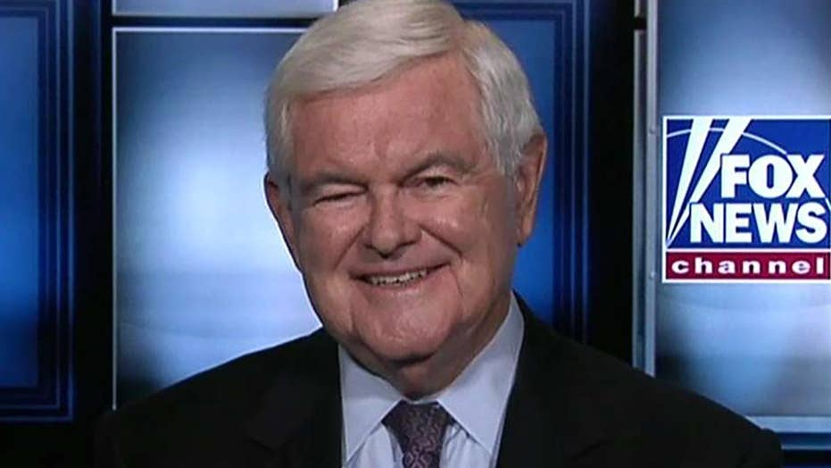 Newt Gingrich: Trump vs  the NY Times, Washington Post