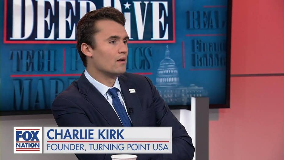Charlie Kirk: We need to 'stop making China richer'
