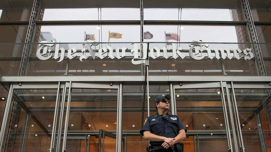 New York Times blasted over leaked audio of anti-Trump coverage