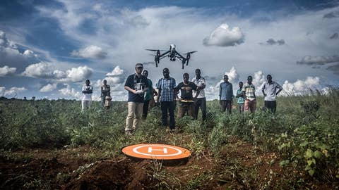 Drones are saving lives in remote parts of Africa