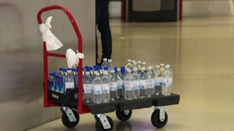 San Francisco airport bans sale of plastic water bottles