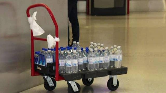 San Francisco International Airport bans sale of plastic water bottles thumbnail