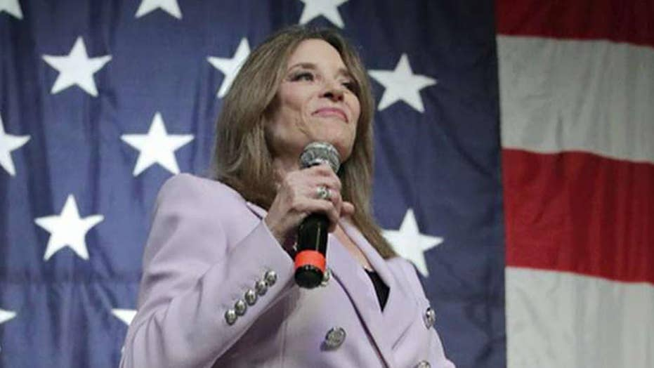 Marianne Williamson unveils proposal to create a Department of Peace