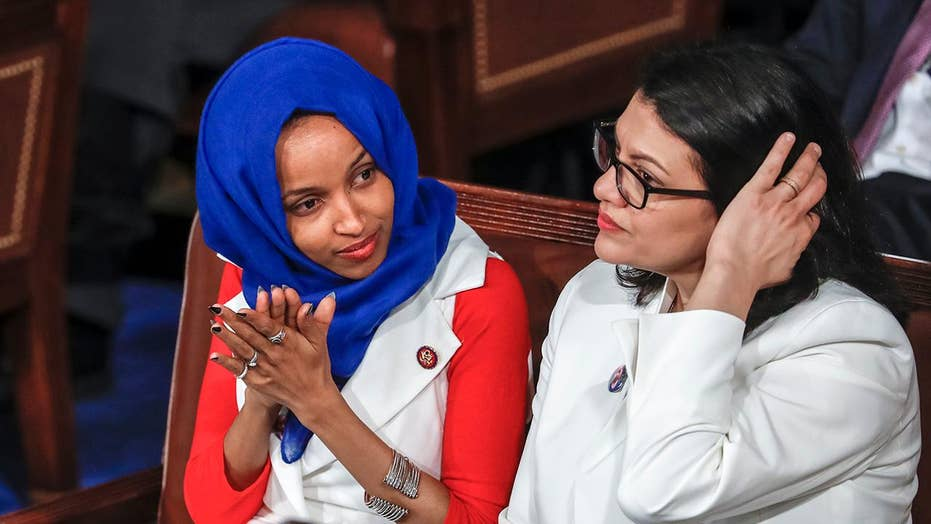 White House condemns Tlaib and Omar on Israel, downplays recession warnings