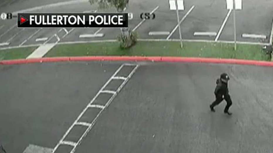 Police release video of suspected killer in campus stabbing of former university official
