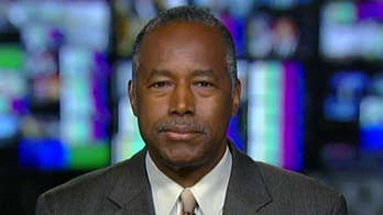 Secretary Ben Carson says homeless crises only seem to occur in places that have massive amounts of regulation