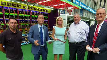 Fox Sports celebrates 26 years with a carnival on Fox Square
