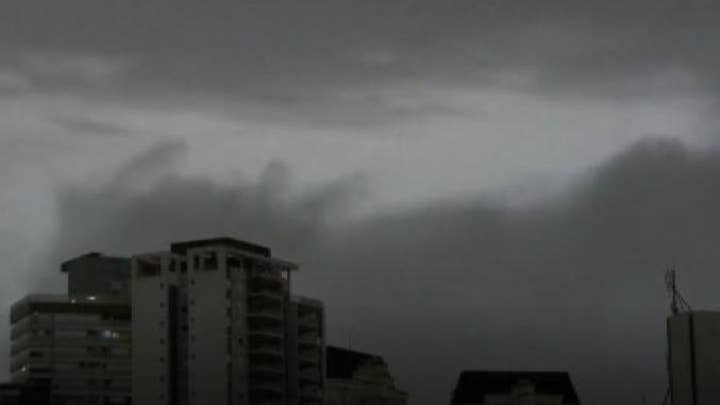 Wildfires in the Amazon darkened the skies in Sao Paulo