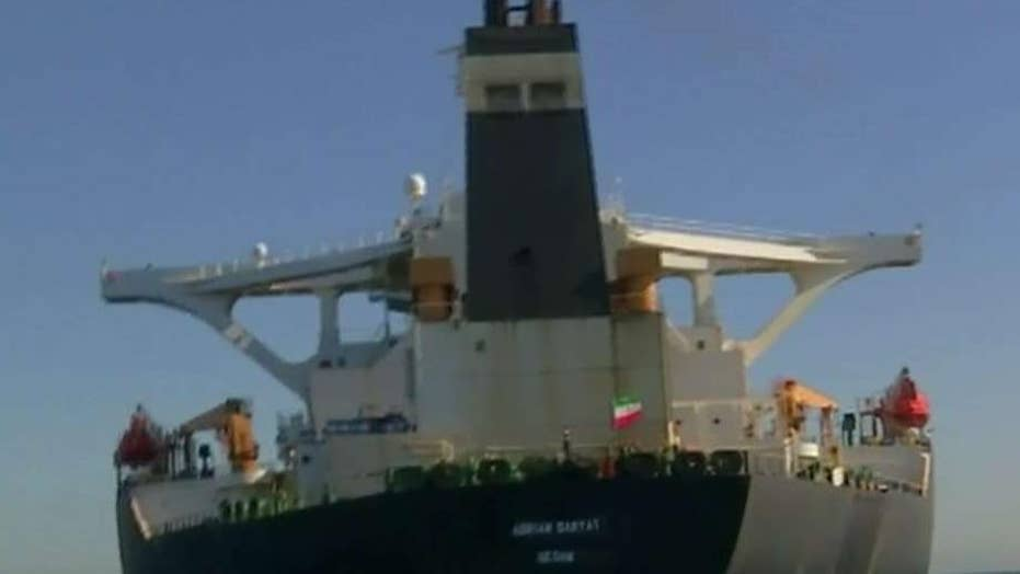 Iranian-flagged oil tanker sought by US reportedly leased to Revolutionary Guard