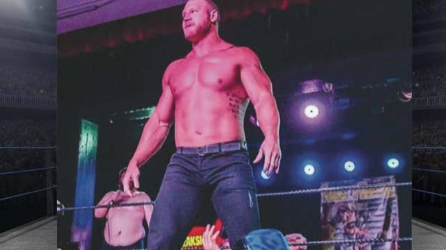 Former WWE star announces congressional run on 'Fox & Friends'